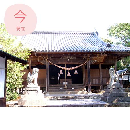 桂浜神社拝殿(現在)
