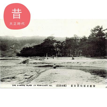 桂浜全景(大正時代)